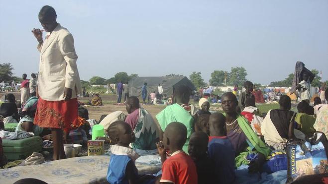 La violencia en la capital sursudanesa ya ha causado 36.000 desplazados