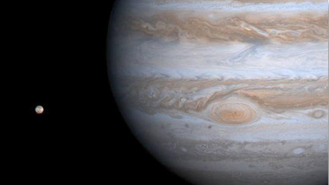 El calentamiento de Júpiter se debe a la Gran Mancha Roja