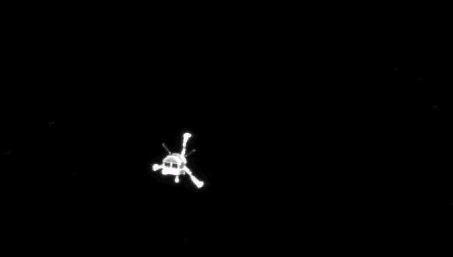 La sonda Rosetta corta la comunicación con el robot espacial Philae