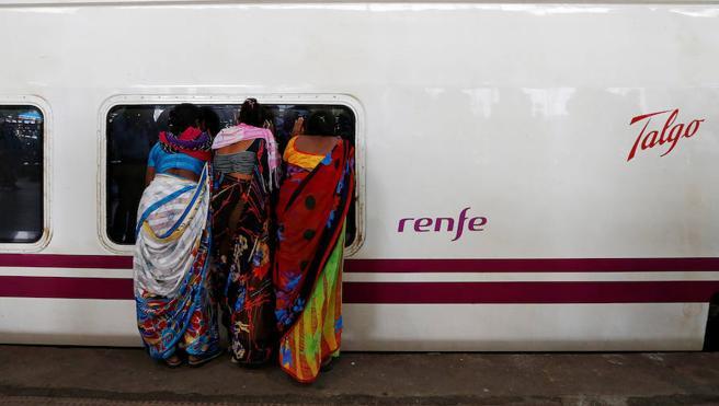 De Bombay a Nueva Delhi en Talgo