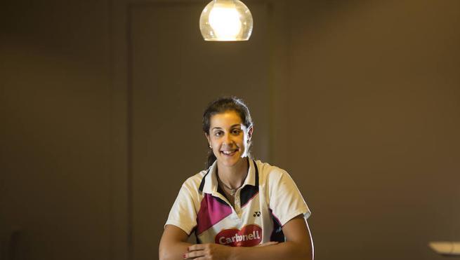 Carolina Marín: «Miedo no sé si me tienen; lo que sí que me tienen es ganas de ganarme»