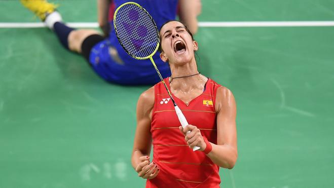 Carolina Marín, a semifinales sin sufrir