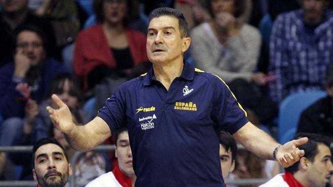 Manolo Cadenas se despide de la selección española