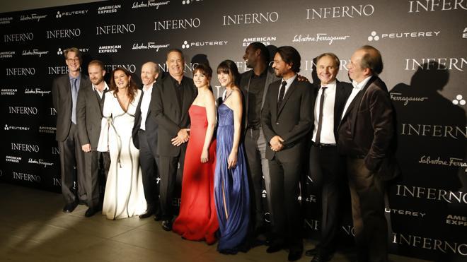 El 'Inferno' de Dan Brown llena de glamour Florencia