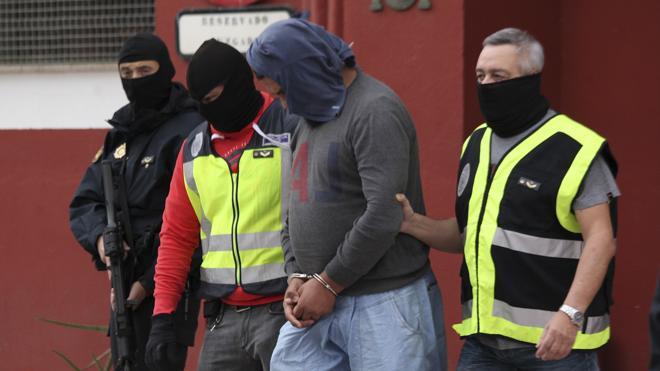 Cuatro yihadistas arrestados en un golpe conjunto hispano-marroquí