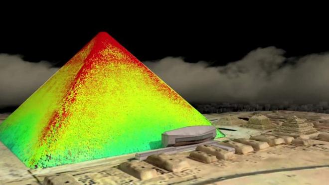 Descubren dos misteriosas cavidades en la Gran Pirámide de Giza
