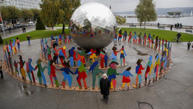 El colorista mundo de Gabarrón ilumina Ginebra