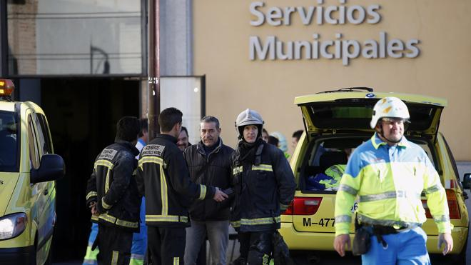 Muere un hombre en el incendio de una residencia de mayores en Madrid