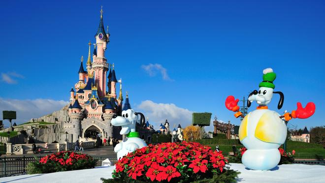 Ya es Navidad en Disneyland