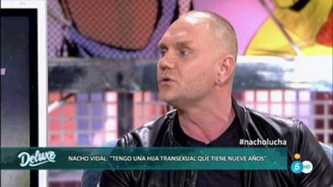 Nacho Vidal confiesa que tiene un hijo transexual: «Nacho ahora se llama Violeta»