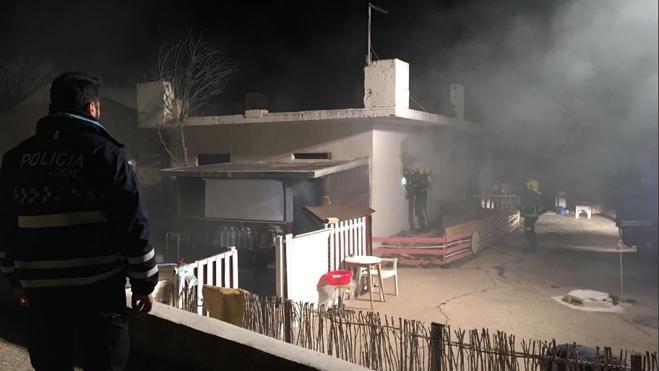 Una mujer muere en Albacete al incendiarse su chabola