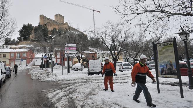 La ola de frío deja en Albacete una mínima histórica de -26 grados