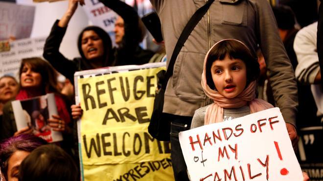 La Justicia bloquea temporalmente el veto de Trump a ciudadanos de siete países musulmanes