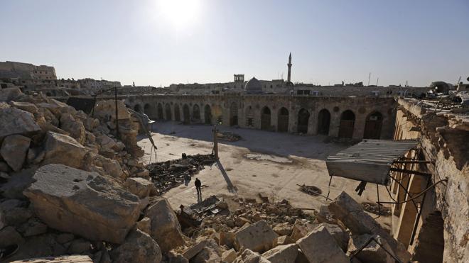 Siria registró en enero su cifra más baja de muertos en los últimos cuatro años
