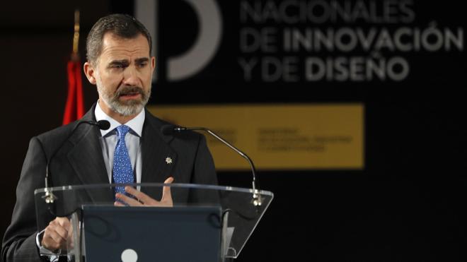 Felipe VI: «Un país que no innova queda a merced de los demás»