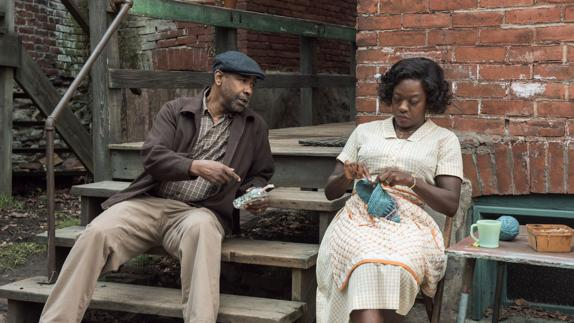 Denzel Washington y Viola Davis en 'Fences'.