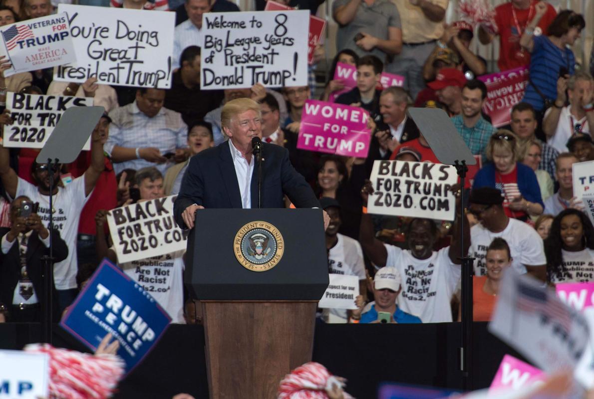 Trump promete crear zonas de seguridad en Siria que pagarán los países del Golfo