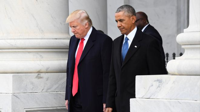 Trump acusa a Obama de intervenir su teléfono durante la última campaña electoral