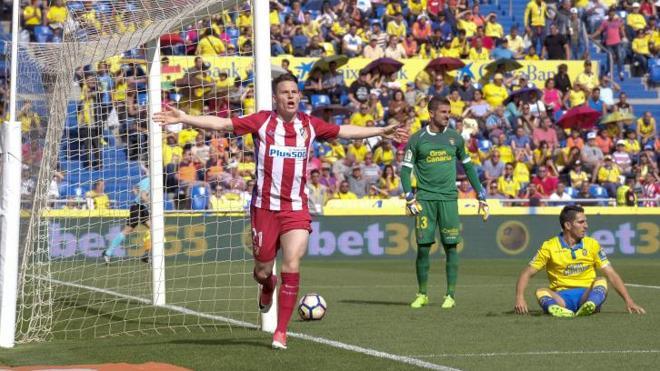 Las Palmas de un gran Atlético