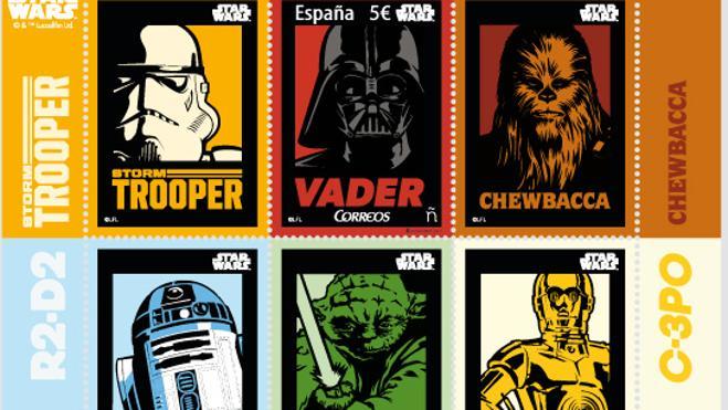 Correos lanza un sello dedicado a los 40 años de 'Star Wars'
