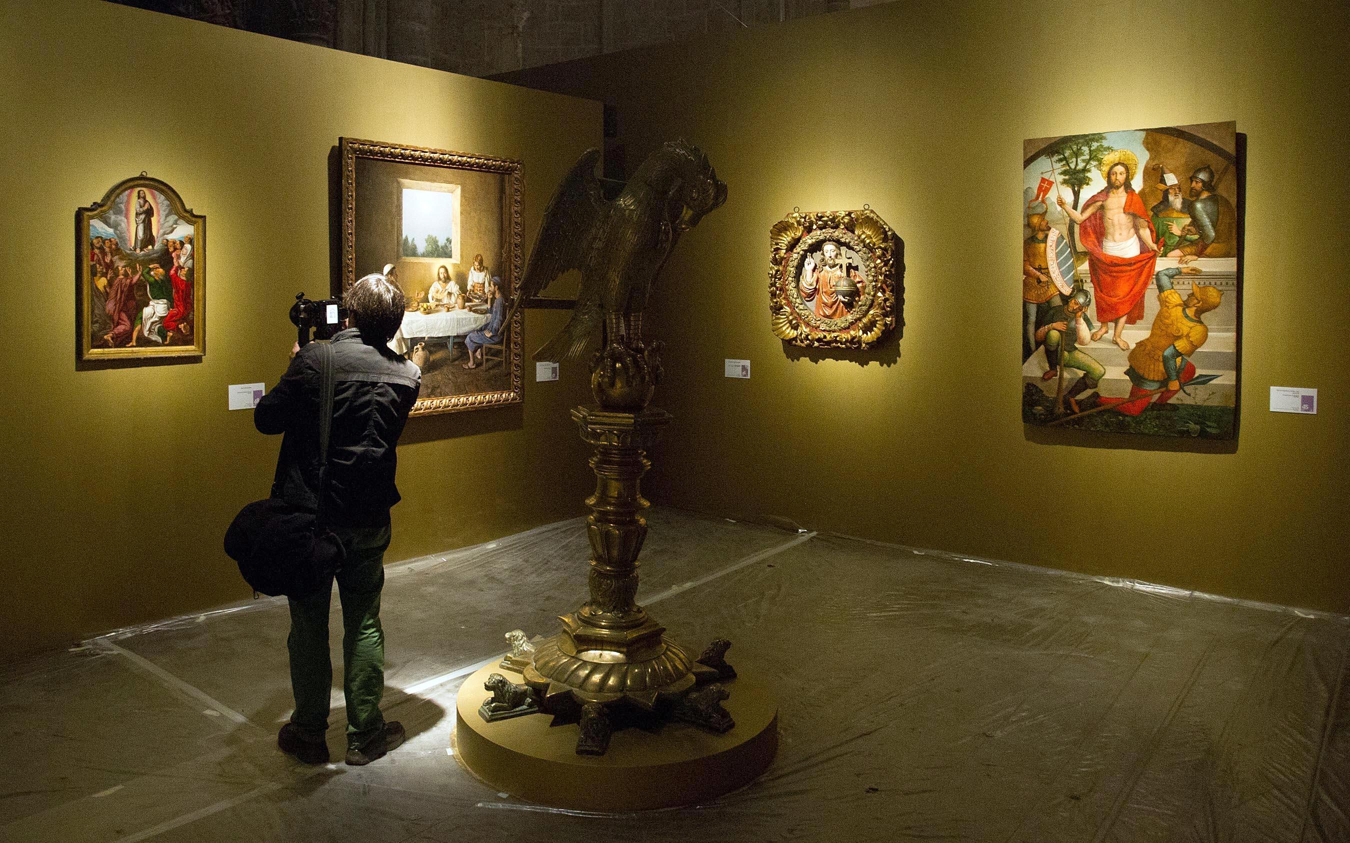 Cinco rutas turísticas reúnen más de 140 recursos visitables en torno a 'Eucharistia'
