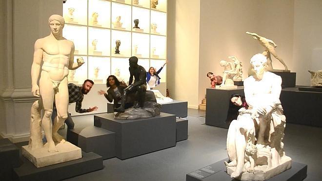 El Museo Nacional de Escultura se cuela en la final mundial del concurso #museumdanceoff