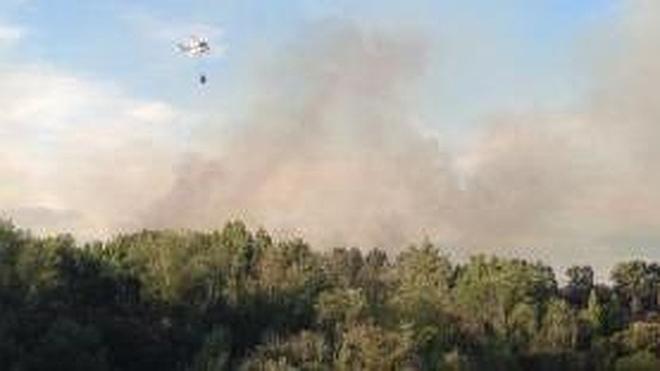 Extinguido el fuego de Oteruelo tras arder durante siete días