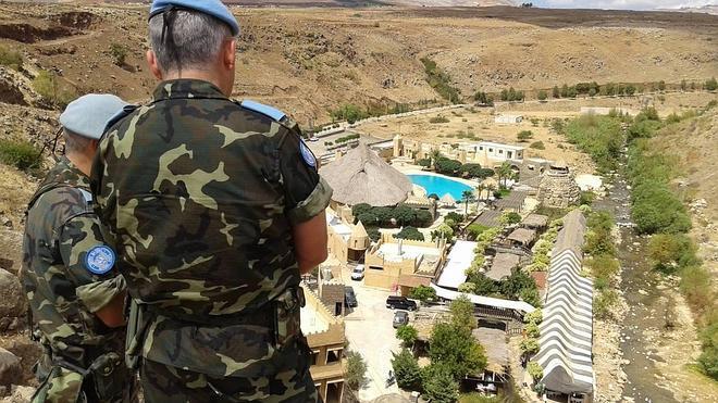 Cascos azules españoles evitan un conflicto entre Israel y Líbano por el uso del agua