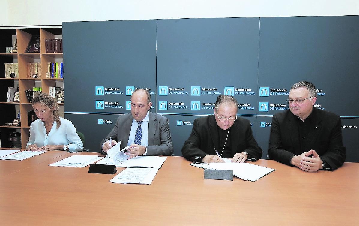 El Obispado y la Diputación destinan 280.000 euros a reparar 17 iglesias