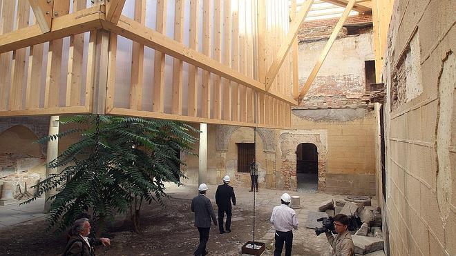 Cultura abrirá las ruinas del Palacio de Enrique IV solo a las visitas cualificadas