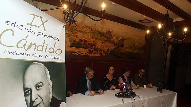 Los chefs Toño Pérez y José Polo, Amref y César Lumbreras, distinguidos en los premios Cándido