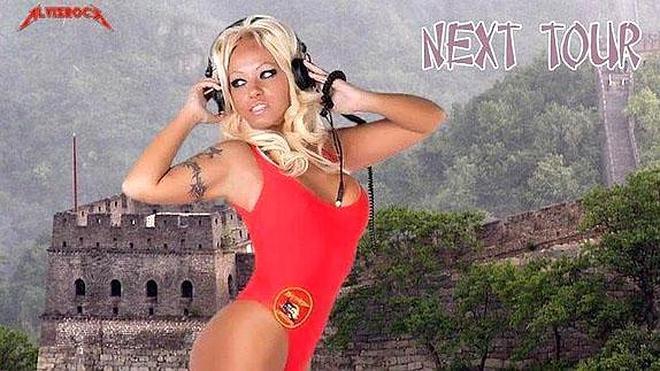 Secuestran a la doble española de Pamela Anderson