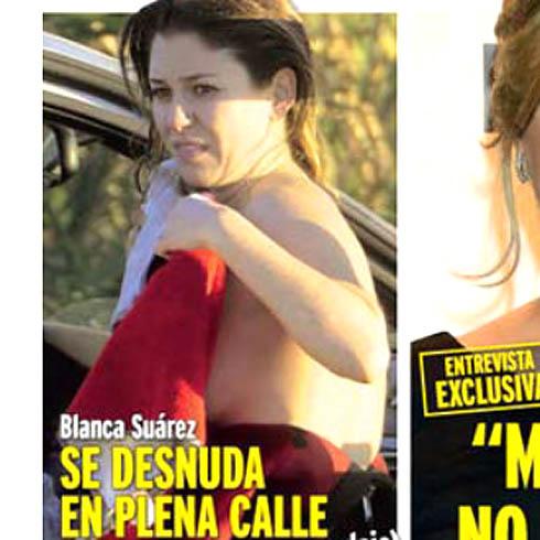 Pillan A Blanca Suárez Casi Desnuda En Mitad De La Calle El Norte
