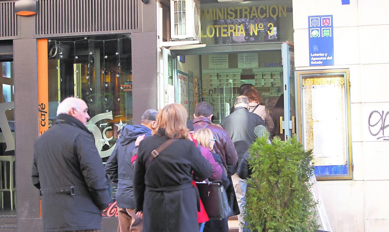 Cada palentino juega 24 euros en la Lotería del Niño, el doble que la media nacional