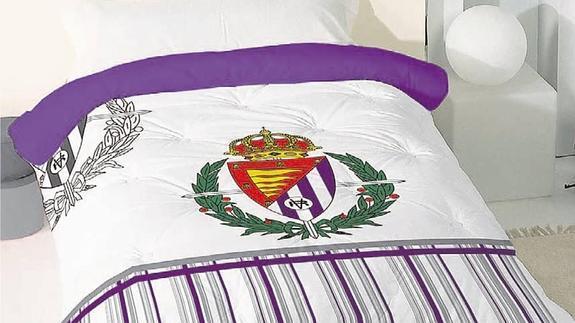 Consigue tu edredón nórdico del Real Valladolid con El Norte de