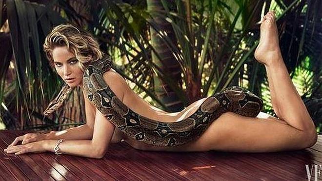Jennifer Lawrence se desnuda para la portada de 'Vanity Fair'