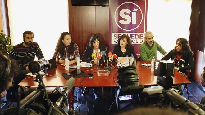 'Sí se puede', el nombre de la candidatura de Podemos y Ganemos para la Alcadía de Valladolid