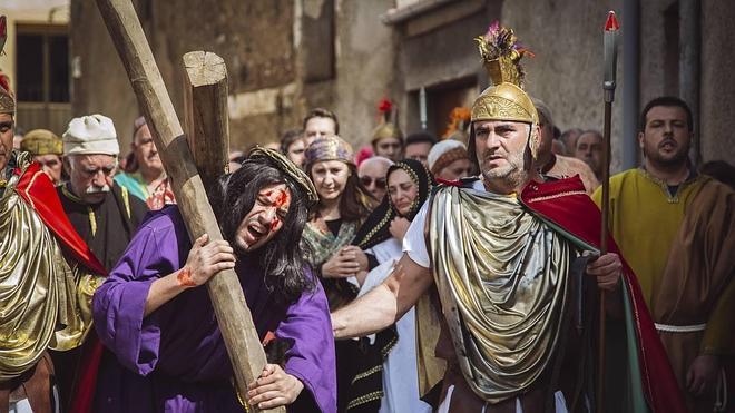 La 'Pasión viviente' de Serradilla del Arroyo insiste en ser declarada BIC de Castilla y León