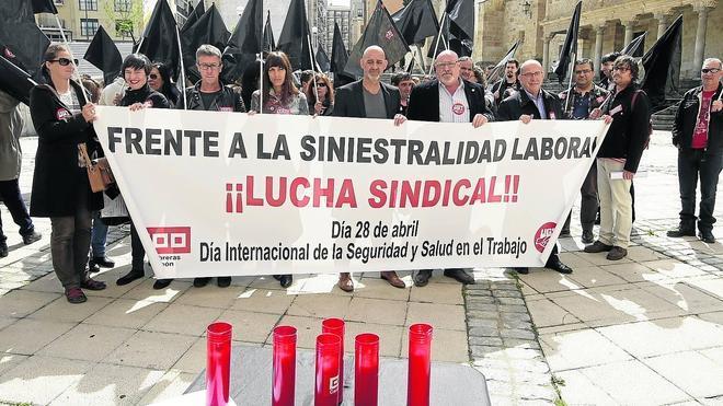 CC OO censura la situación «deplorable e inasumible» de la prevención laboral