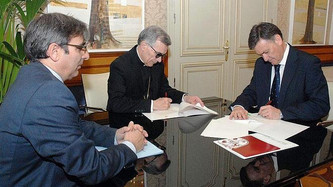 La Diputación y el Obispado aportan 180.000 euros para reparar iglesias de Segovia