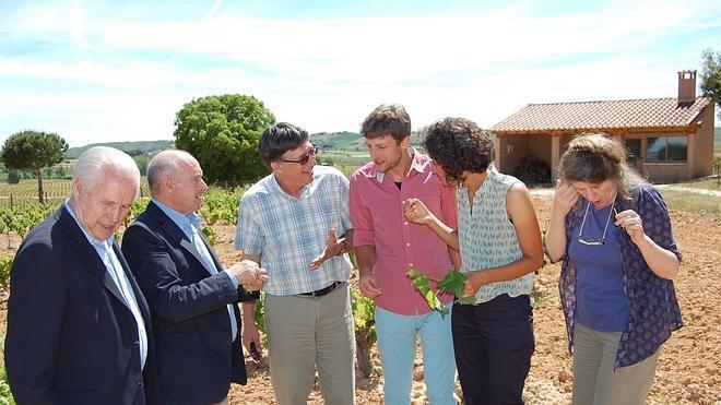 El embajador de Israel en España visita Viña Pedrosa