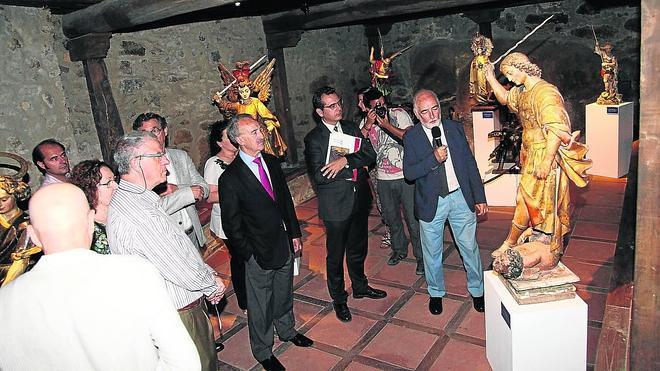 'Santos contra demonios' muestra en La Alberca el patrimonio religioso serrano