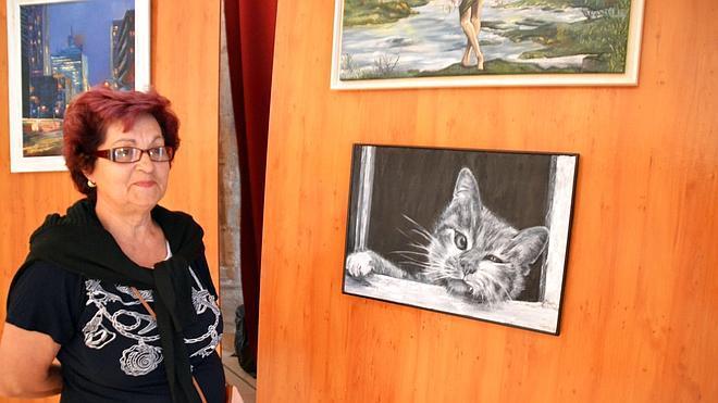 Las Amas de Casa clausuran el curso con una exposición en San Francisco