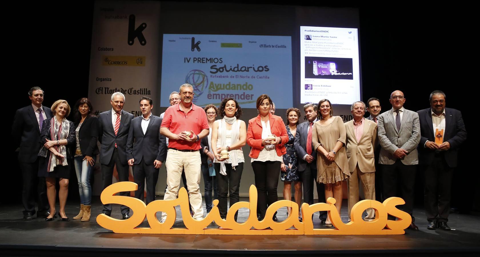Feclei, Fundación Aldaba y Fundación Intras ganan los IV Premios Solidarios Kutxabank de El Norte de Castilla