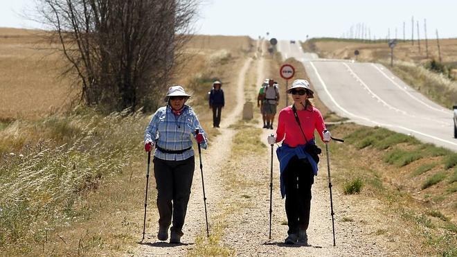 El Camino de Santiago recibe a más peregrinos que en 2014