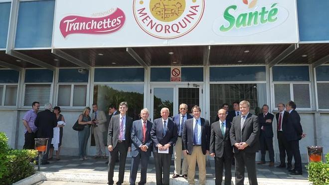 Iberaval participa en la entrada de la palentina Quesería Ibérica en Quesería Menorquina