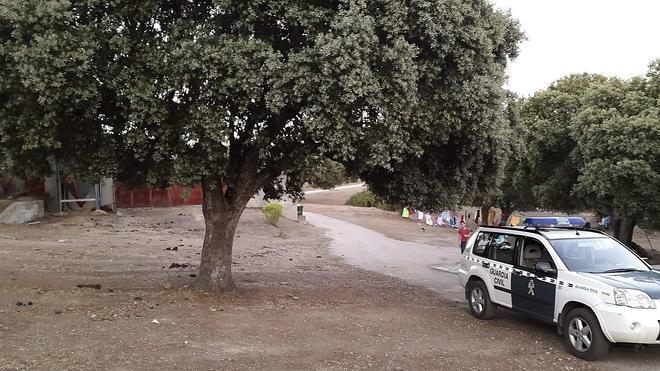 Intoxicados por humo un grupo de jóvenes en un campamento de Salamanca