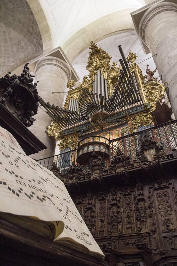 La provincia de Valladolid conserva 76 órganos barrocos, pero solo 33 funcionan