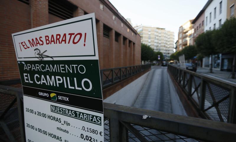 Tres concejales tratarán de desbloquear el cierre del 'parking' del Campillo el jueves
