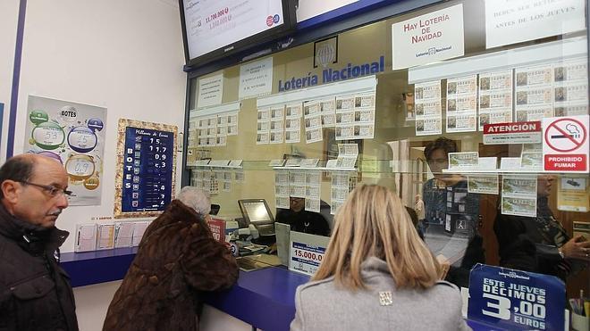 Los palentinos gastan un 12% menos en loterías desde el inicio de la crisis